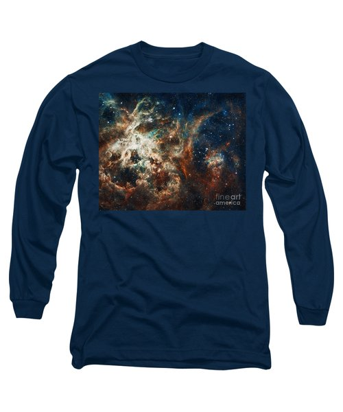 The Tarantula Nebula Long Sleeve T-Shirt