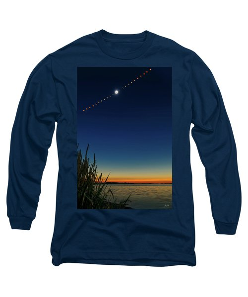 2017 Great American Eclipse Long Sleeve T-Shirt