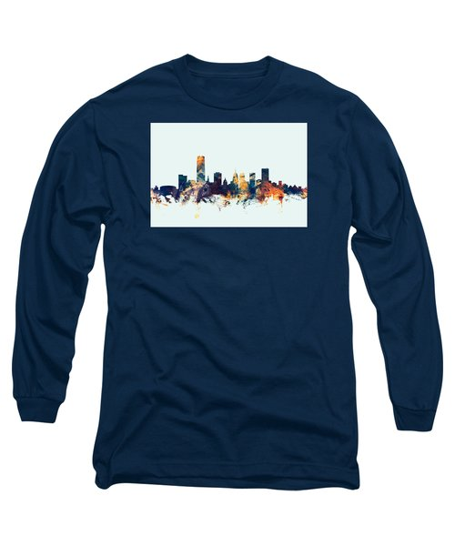 Oklahoma City Skyline Long Sleeve T-Shirt