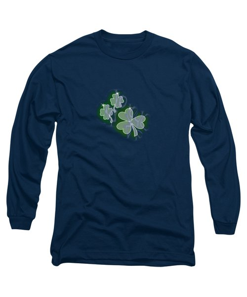 3 Shamrocks Long Sleeve T-Shirt