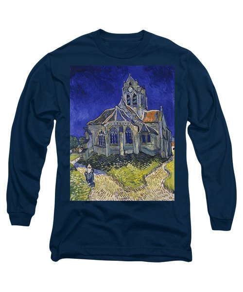 The Church At Auvers Long Sleeve T-Shirt