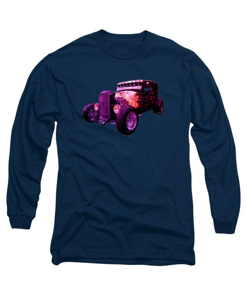 31 Ford Model A Fiery Hot Rod Classic Long Sleeve T-Shirt