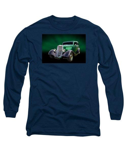 34 Tudor Long Sleeve T-Shirt by Keith Hawley