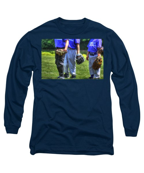 4 Gloves 1594 Long Sleeve T-Shirt by Jerry Sodorff