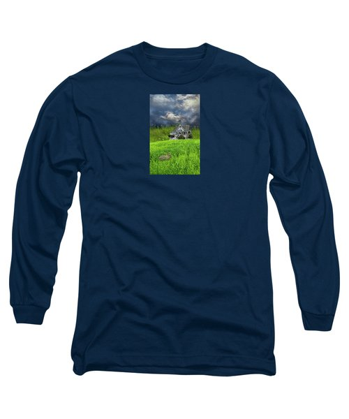 Long Sleeve T-Shirt featuring the photograph 4379 by Peter Holme III
