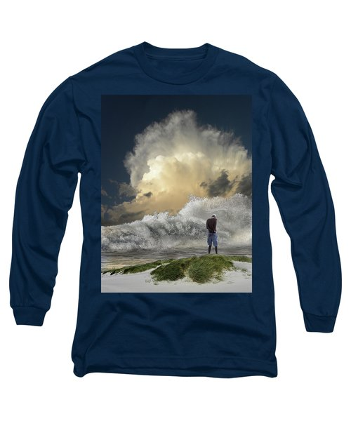Long Sleeve T-Shirt featuring the photograph 4457 by Peter Holme III