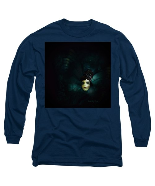 Long Sleeve T-Shirt featuring the digital art A Basement Apartment by Delight Worthyn