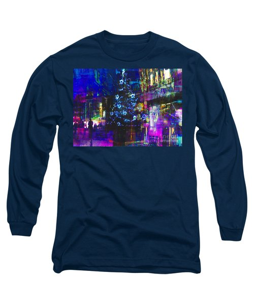 Long Sleeve T-Shirt featuring the photograph A Bright And Colourful Christmas by LemonArt Photography