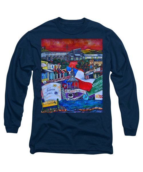 A Church For The City Long Sleeve T-Shirt by Patti Schermerhorn