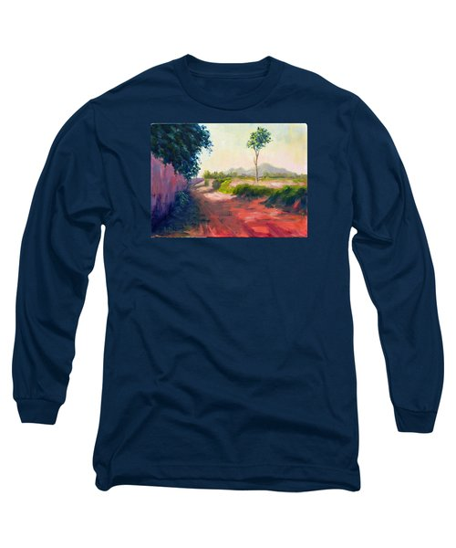 A Countryside Road Long Sleeve T-Shirt