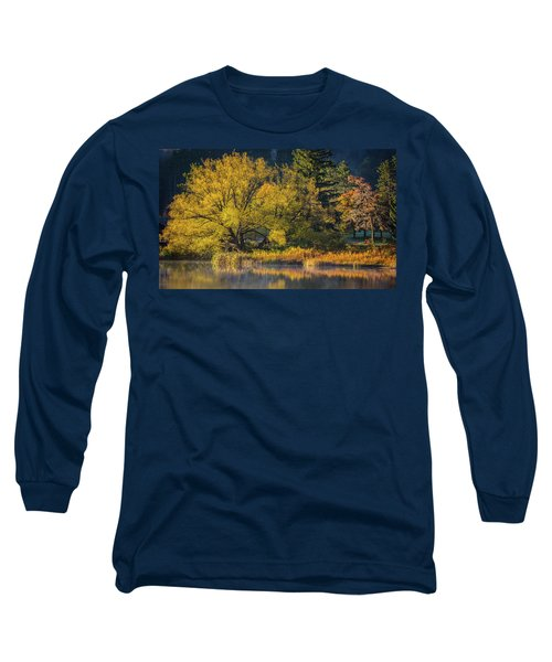 A Fall Day  Long Sleeve T-Shirt