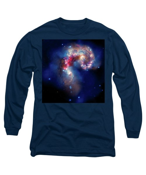 Long Sleeve T-Shirt featuring the photograph A Galactic Spectacle by Marco Oliveira