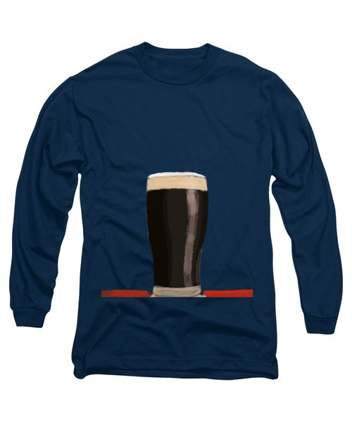 A Glass Of Stout Long Sleeve T-Shirt