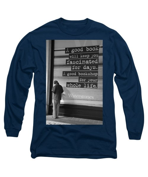 A Good Book Long Sleeve T-Shirt