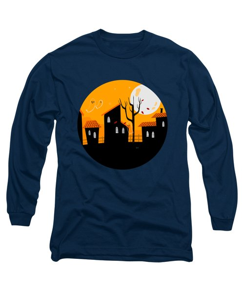 A Haunting We Will Go Long Sleeve T-Shirt