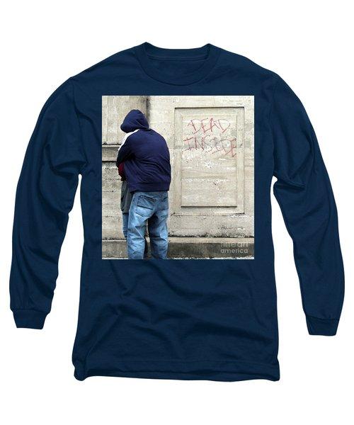 Long Sleeve T-Shirt featuring the photograph A Hug by Joe Jake Pratt
