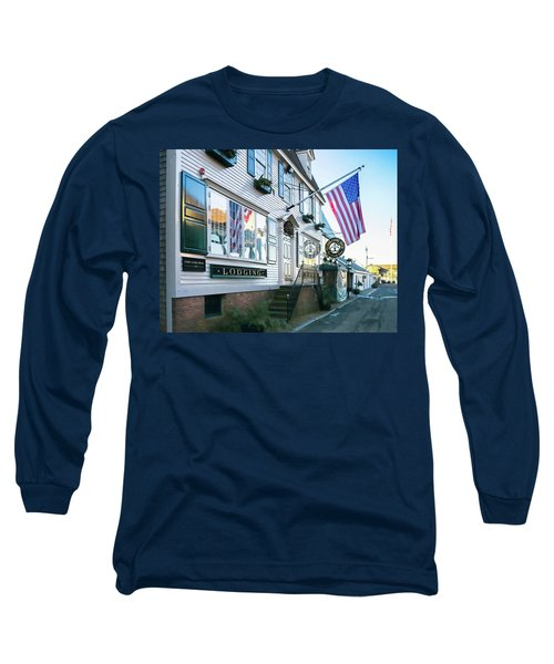 A Newport Wharf Long Sleeve T-Shirt
