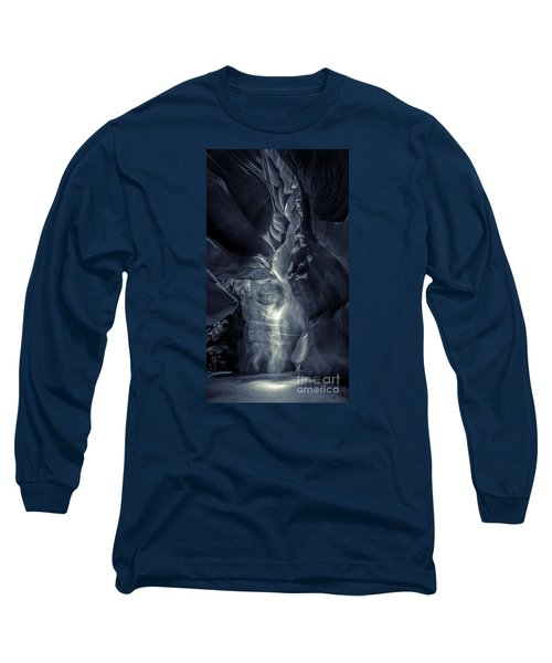 A Phantom Emerges From Antelope Canyon Long Sleeve T-Shirt