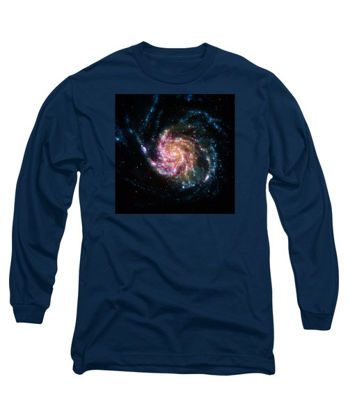 A Pinwheel In Many Colors Long Sleeve T-Shirt