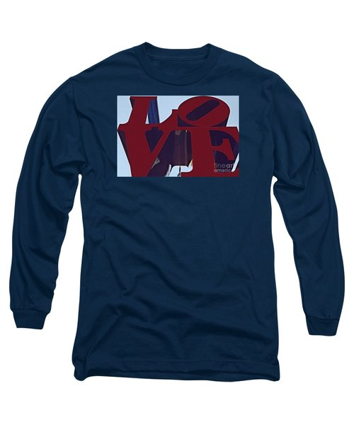 A View Of Bill Penn Long Sleeve T-Shirt