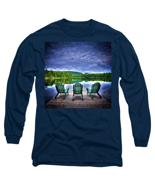 Long Sleeve T-Shirt featuring the photograph A View Of Serenity by David Patterson