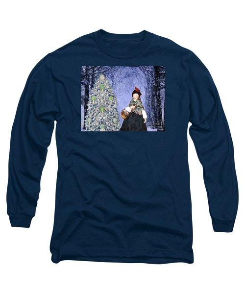 A Winter Walk Long Sleeve T-Shirt