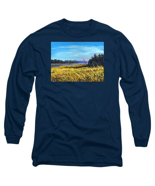 Above The Dam Sketch Long Sleeve T-Shirt