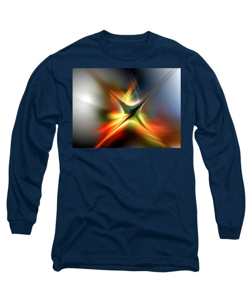 Abstract 060310a Long Sleeve T-Shirt