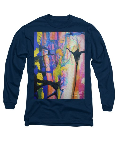 Abstract-3 Long Sleeve T-Shirt