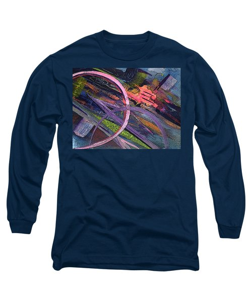 Abstract Blast Long Sleeve T-Shirt