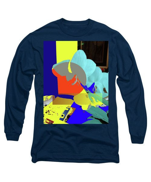 Abstract Flowers Of Light Series #14 Long Sleeve T-Shirt