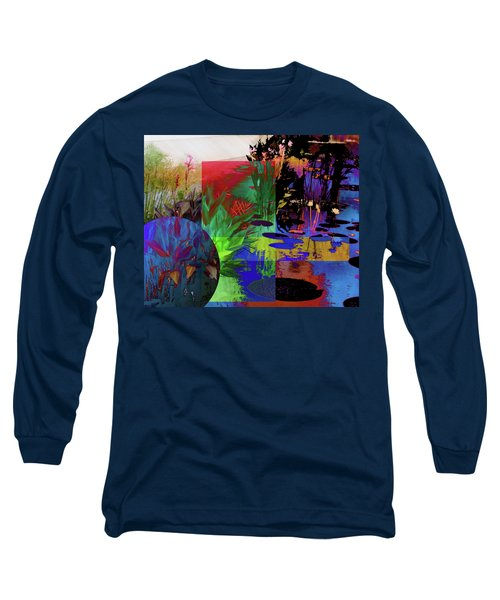 Abstract Flowers Of Light Series #19 Long Sleeve T-Shirt
