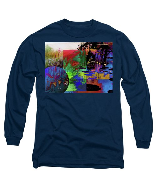 Abstract Flowers Of Light Series #21 Long Sleeve T-Shirt
