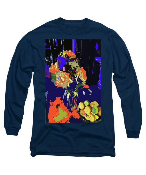 Abstract Flowers Of Light Series #8 Long Sleeve T-Shirt