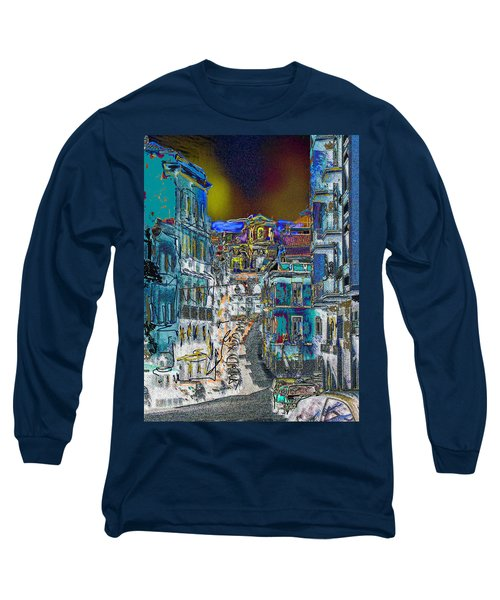 Abstract  Images Of Urban Landscape Series #11 Long Sleeve T-Shirt