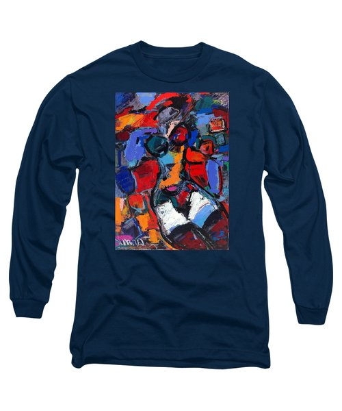 Abstract Nude 05 Long Sleeve T-Shirt