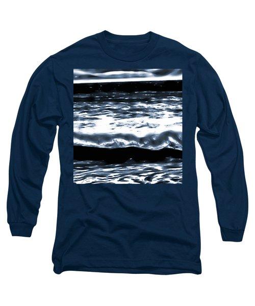 Abstract Ocean Long Sleeve T-Shirt