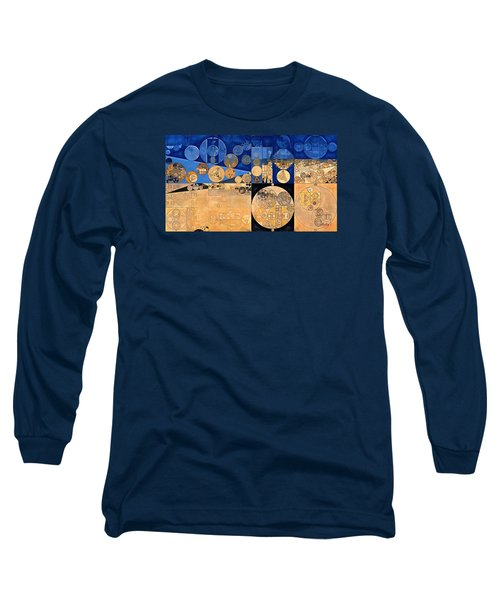 Long Sleeve T-Shirt featuring the digital art Abstract Painting - Fawn by Vitaliy Gladkiy