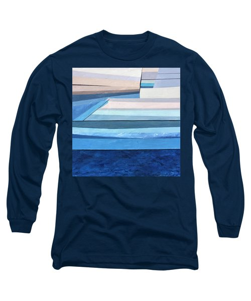 Abstract Swimming Pool Long Sleeve T-Shirt