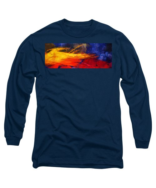 Abstract - Throw  Long Sleeve T-Shirt
