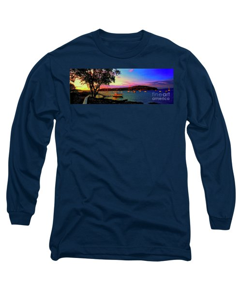 Acadia Bar Harbor Sunset Cruises.tif Long Sleeve T-Shirt