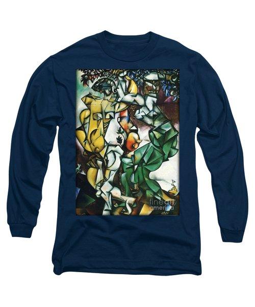 Adam And Eve Long Sleeve T-Shirt