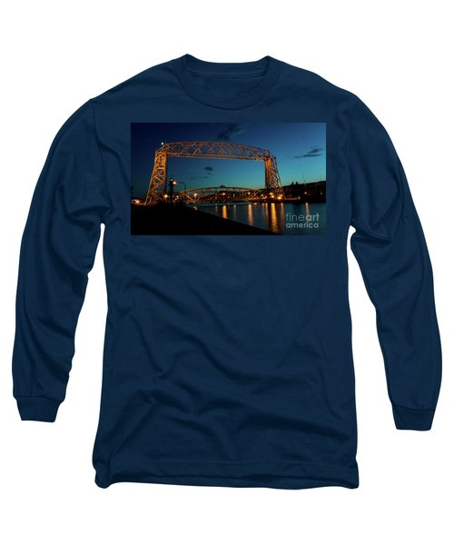Aerial Lift Bridge Long Sleeve T-Shirt