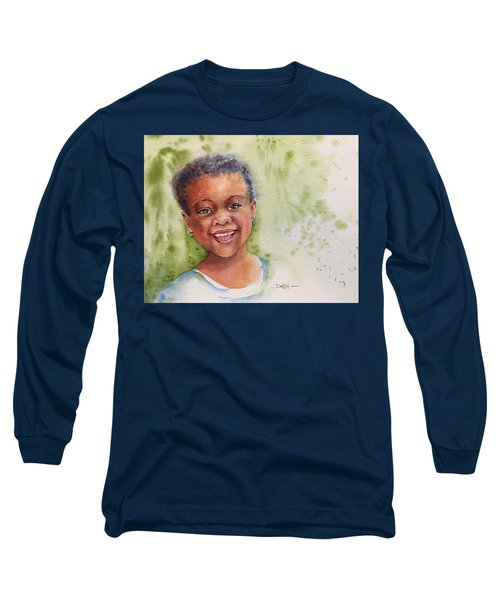 African Girl Long Sleeve T-Shirt