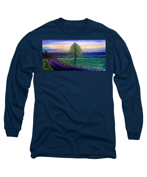 After The Rain Comes The Joy Long Sleeve T-Shirt by Kimberlee Baxter