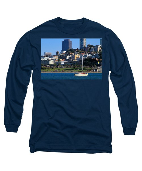 Afternoon At Maritime Park Long Sleeve T-Shirt