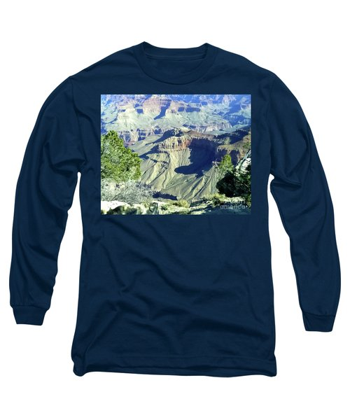 Afternoon View Grand Canyon Long Sleeve T-Shirt