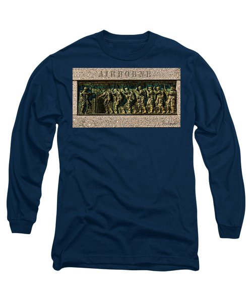 Airborne Long Sleeve T-Shirt by Christopher Holmes