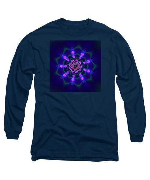 Akbal 9 Beats 3 Long Sleeve T-Shirt by Robert Thalmeier