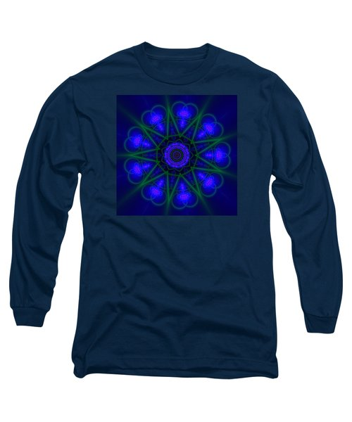 Akbal 9 Beats Long Sleeve T-Shirt by Robert Thalmeier